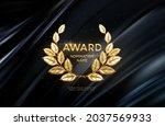 3d realistic gold laurel wreath ...   Shutterstock .eps vector #2037569933