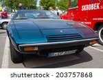 Постер, плакат: Sports car Maserati Khamsin