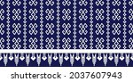 seamless vector pattern with...   Shutterstock .eps vector #2037607943
