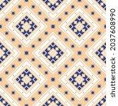 seamless vector pattern in...   Shutterstock .eps vector #2037608990