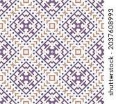 seamless vector pattern in...   Shutterstock .eps vector #2037608993