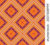 seamless vector pattern in...   Shutterstock .eps vector #2037608999