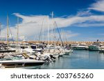 antibes  france   jun 25  2014  ... | Shutterstock . vector #203765260