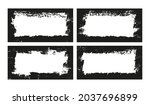 abstract grunge distressed... | Shutterstock .eps vector #2037696899