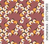 seamless abstract strange... | Shutterstock .eps vector #2037714803