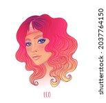 illustration of leo... | Shutterstock .eps vector #2037764150