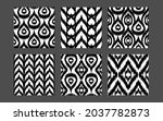 ethnic seamless patterns... | Shutterstock .eps vector #2037782873