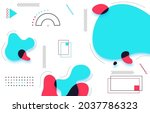 background template with... | Shutterstock .eps vector #2037786323