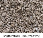 the texture of dirty rubble.... | Shutterstock . vector #2037965990