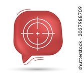 aiming  focus and target vector ...   Shutterstock .eps vector #2037988709