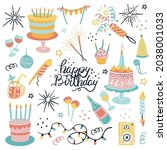 Vector Set For Your Birthday....