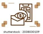 prediction icon symbol sign...   Shutterstock .eps vector #2038030109
