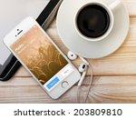saint petersburg  russia  ... | Shutterstock . vector #203809810