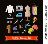 fashion designer tools and...