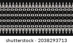 seamless vector border pattern. ...   Shutterstock .eps vector #2038293713