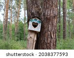 Birdhouse In The Forest Set...