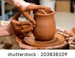 Hands Of A Potter  Creating An...