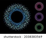 drops  long droplets round text ... | Shutterstock .eps vector #2038383569