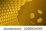 football or soccer background... | Shutterstock . vector #2038524290