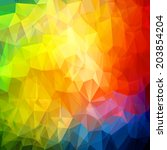 abstract colored bright summer... | Shutterstock .eps vector #203854204