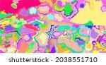 color soft grunge multicolor... | Shutterstock .eps vector #2038551710