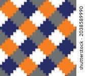 seamless knitting sweater... | Shutterstock .eps vector #2038589990
