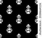 traditional asian damask... | Shutterstock .eps vector #2038664126