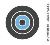 nazar amulet icon vector image. ...   Shutterstock .eps vector #2038676666