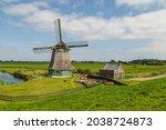 Old Windmill In Schellinkhout...
