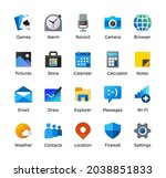 computer desktop icon pack....