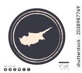 black grunge stamp circle... | Shutterstock .eps vector #2038987769