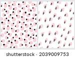 cute abstract seamless vector... | Shutterstock .eps vector #2039009753