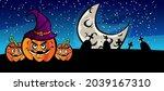 halloween design vector  ... | Shutterstock .eps vector #2039167310