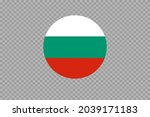 bulgaria flag in circle shape... | Shutterstock .eps vector #2039171183