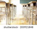 an image of classroom   Shutterstock . vector #203921848