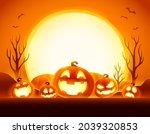 halloween celebration fun party.... | Shutterstock . vector #2039320853