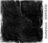 black paper  for background  | Shutterstock . vector #203933350