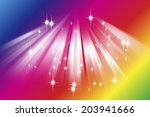 a bell and snowflakes | Shutterstock . vector #203941666
