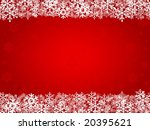 red christmas background with... | Shutterstock .eps vector #20395621
