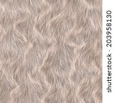 Seamless Long Hair Animal Fur...