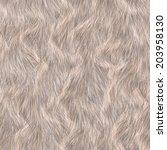 Seamless Long Hair Animal Fur...