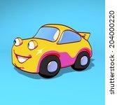 sport car | Shutterstock . vector #204000220