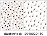 cute abstract seamless vector... | Shutterstock .eps vector #2040020450