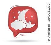 star  moon  night and moonlight ... | Shutterstock .eps vector #2040031310