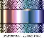 silver polished steel texture...   Shutterstock .eps vector #2040041480