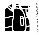 domestic chemical and detergent ...   Shutterstock .eps vector #2040068990