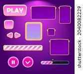 game ui set buttons pop up...