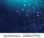 big data information  network...   Shutterstock .eps vector #2040237920