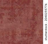 red damaged wall plaster... | Shutterstock .eps vector #2040255776