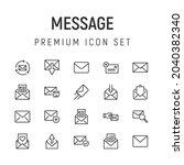 premium pack of message line...